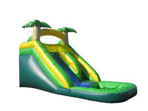 16' Tropical Mega Water Slide