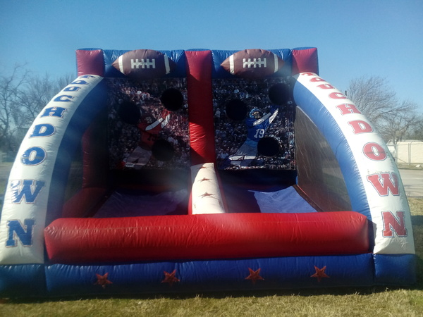 First Down Football Toss
